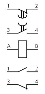 Схема подключения РВП-72-3222